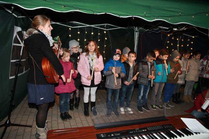 Lichterfest Flötenklasse