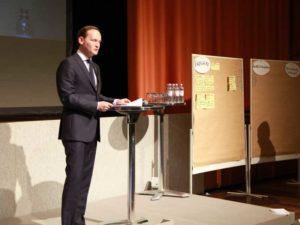 BASF Werksleiter Dr. Uwe Libelt.