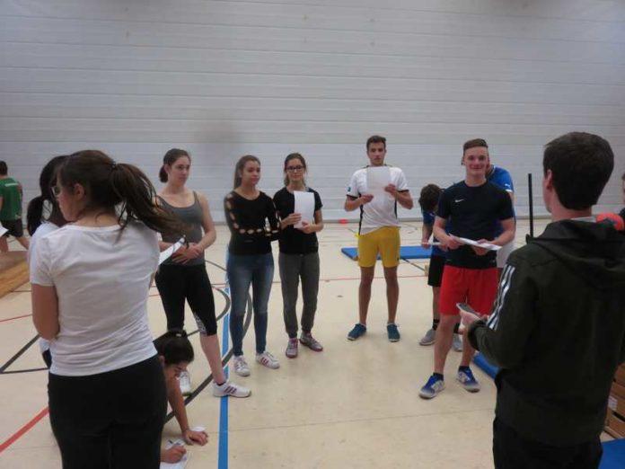 Der Sportleistungskurs vor dem Fitnesstest