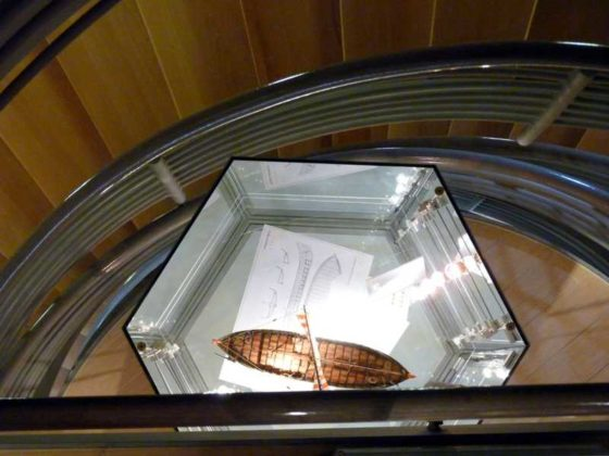 Der Modellbauer Günter Dörner zeigt Schiffsgeschichte vom Einbaum zur Fregatte.