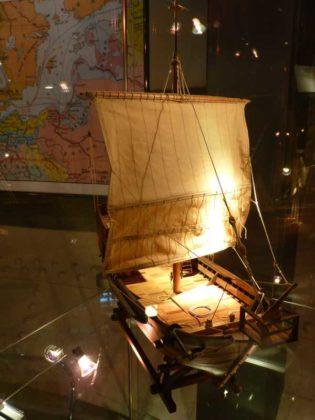 Die Hanse-Kogge von 1380.