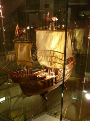 Das Hanseschiff um 1470.