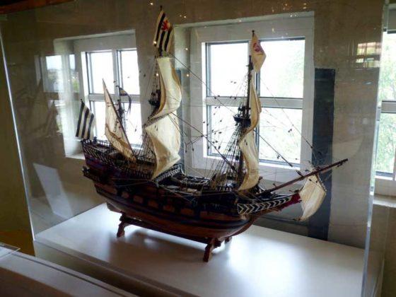 """Die Fregatte """"ROTER LÖWE"""" 1597."""