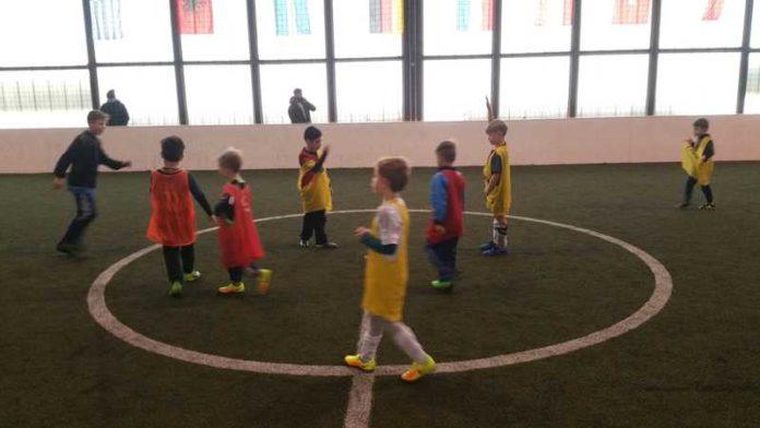 Jugend in der Soccerhalle