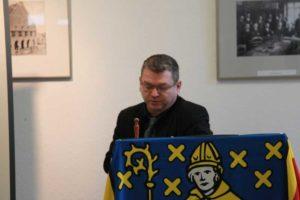 Dr. Klaus J. Becker Stadtarchiv Vortrag über das Rathaus.