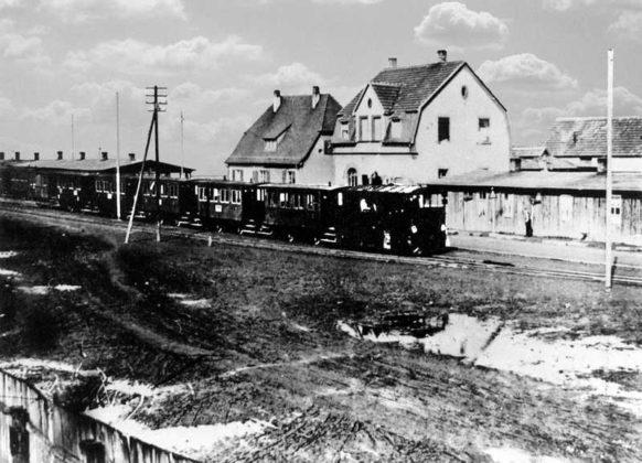 Oppau 1925 Lokalbahn, Edigheimerstraße Haltestelle Bührer 49.525461, 8.399177