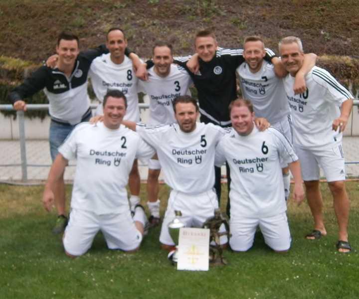1.FC 08 Haßloch Gewinner des 24. Günter-Heiden-Gedächtnisturnier - Archivbild