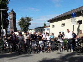 Fahrradtour mit Peter Uebel