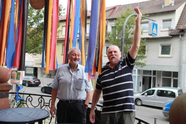 Hubert V. Eisenhauer und Hans Klanig Wem ghört die Kerwe? Unser!