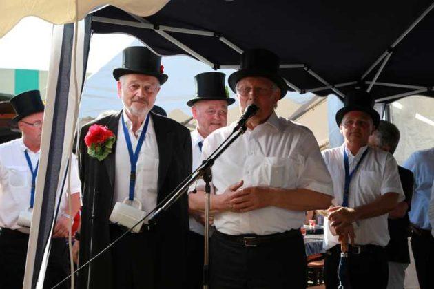 Grußwort des Ortsvorstehers Udo Scheuermann,