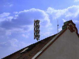 Neue Sirene auf dem Rathausdach in Oppau