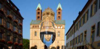 Spiegelungen, Dom zu Speyer, Emil Kepert