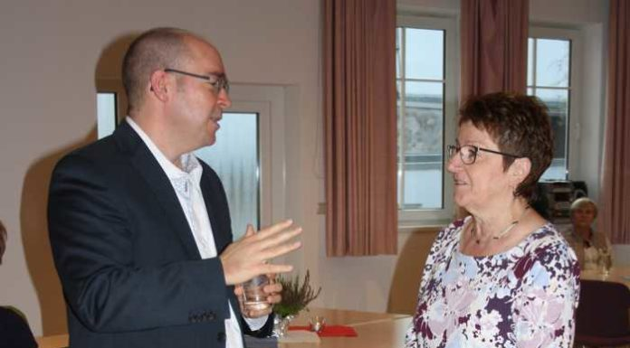 Pfarrer Dr. Metzger und Edith Brünnler