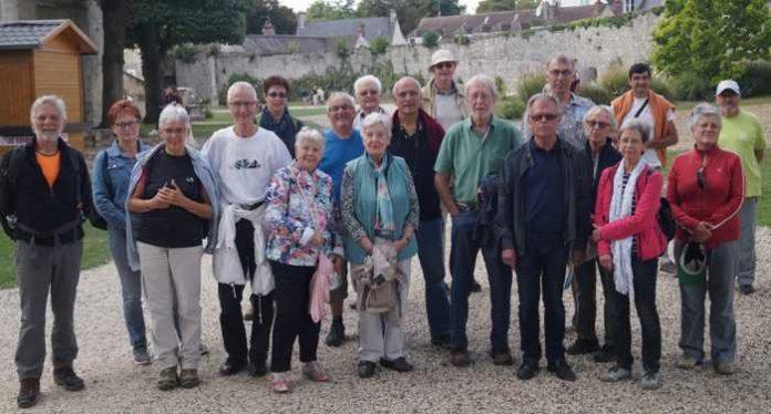 Wandergruppen Oppau und Breuil le Sec