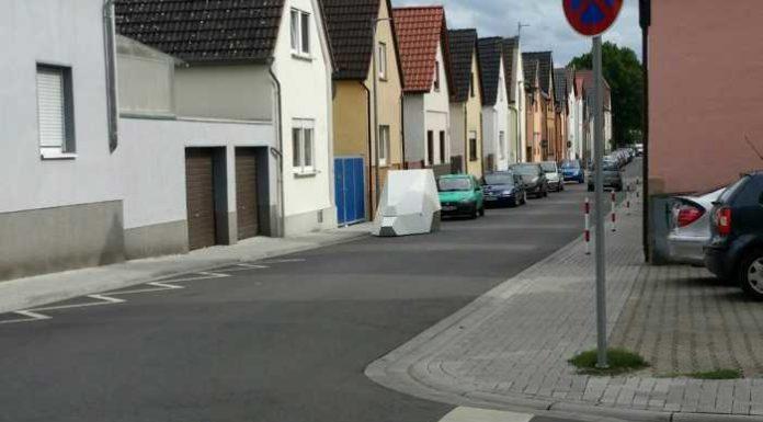 Mobiler Blitzer in Oppau