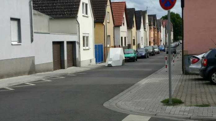 Mobiler Blitzer in Oppau - Archivbild