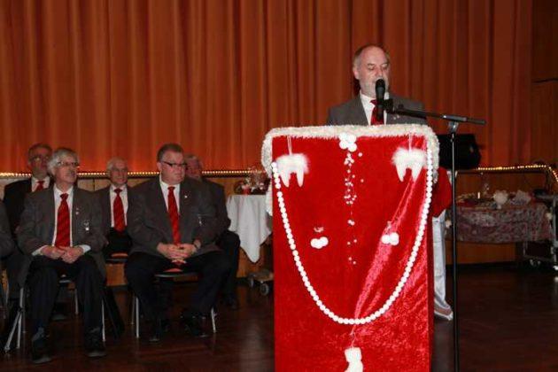 2. Vorsitzender Joachim Wadlinger.