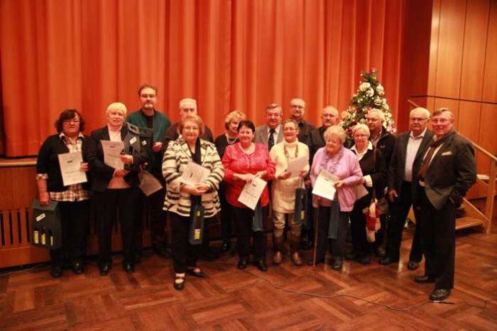 VdK-Weihnacht Mitgliederehrung