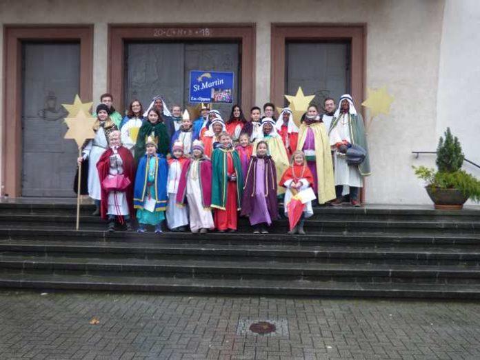 Sternsinger St. Martin in Oppau
