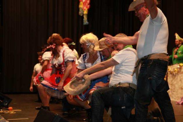 Männerballett des Mundenheimer Karnevalverein