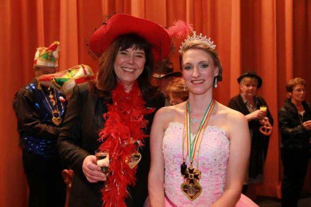 OB Jutta Steinruck und Prinzessin Corinna I.