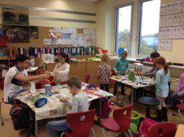 Die Gruppenarbeit hat den Kindern der 2b viel Spaß gemacht, alle waren mit großer Motivation dabei.