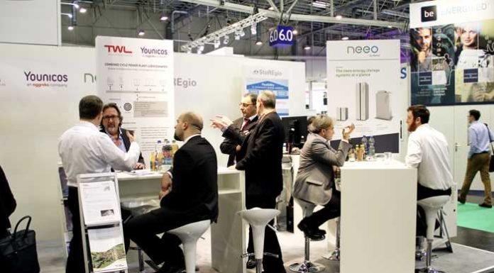 TWL stellt auf der E-world in Essen das innovative kombinierte Regelkraftwerk vor. (Bildquelle: TWL)