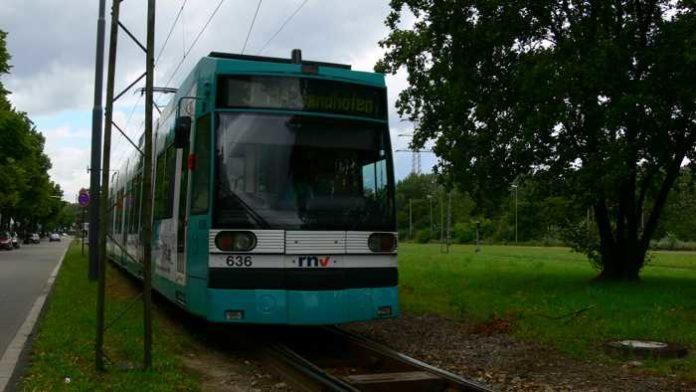 Straßenbahn Endstelle Oppau