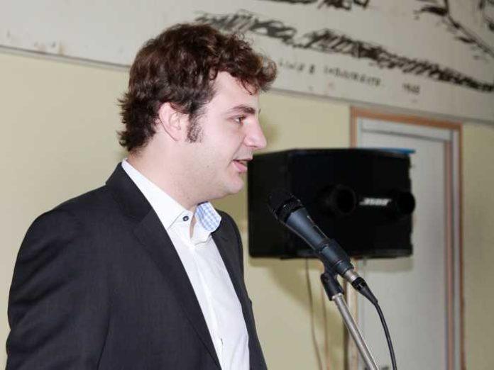 David Schneider, Vorsitzender der SPD Ludwigshafen.