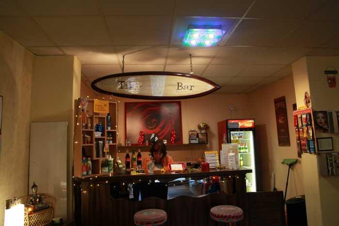 Die Tiki-Bar im Sunwell