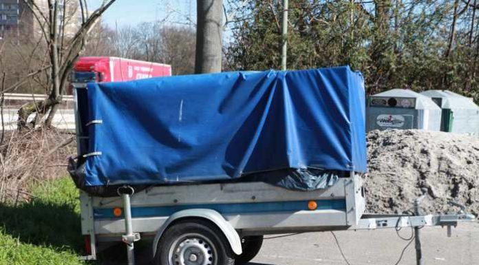 Illegale Müllablagerung