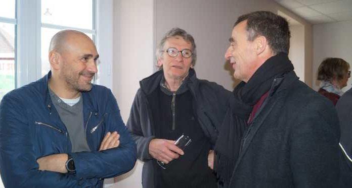 vlnr Christophe Briot - Jean Marc Tomczyk -Denis Depuis