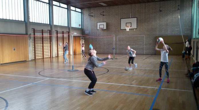 Volleyballtraining für Mädchen