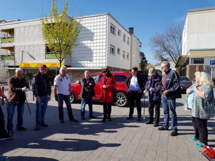 Aktion saubere Stadt in Edigheim
