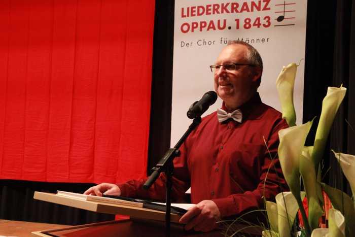 Begrüßung durch 1. Vorstand Klaus Müller
