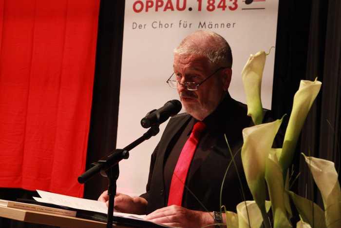 Hubert V. Eisenhauer, Vorsitzender der Arbeitsgemeinschaft Oppauer Vereine