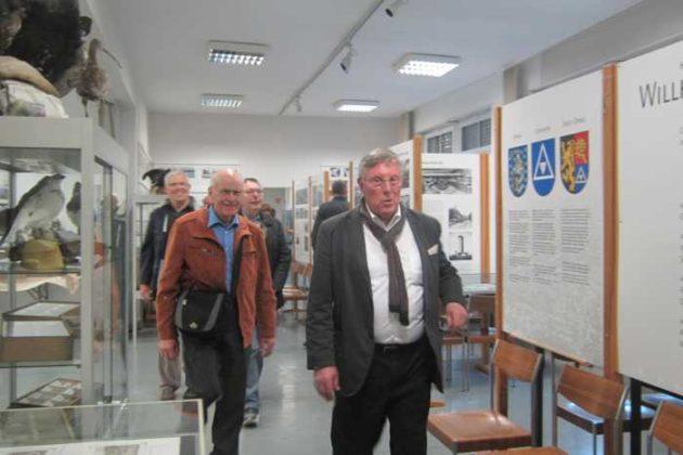 Ortsvorsteher führt durch das K-O-Braun-Museum. Foto: Gabi Albrecht