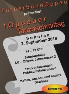 TBO-Tanztreff: Tanzen macht Spaß @ TBO Jahnturnhalle