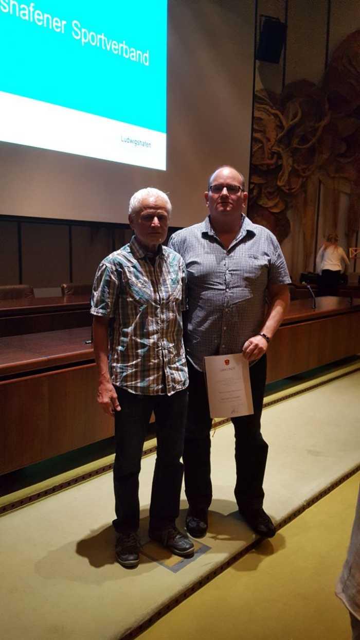 Frank Herrmann und Bruno Potschuvay