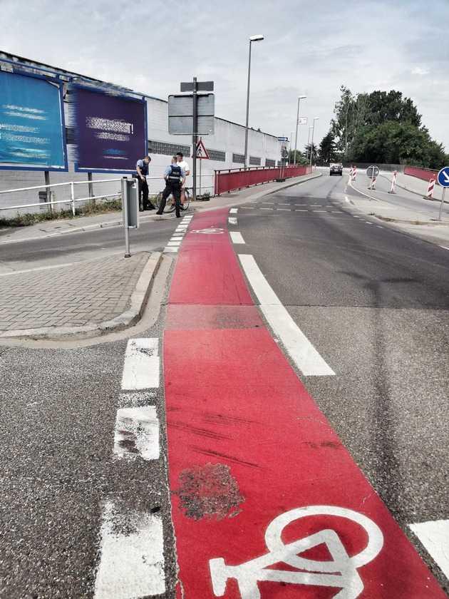 Viele uneinsichtige Radfahrer stellte die Polizei bei einer Kontrolle fest