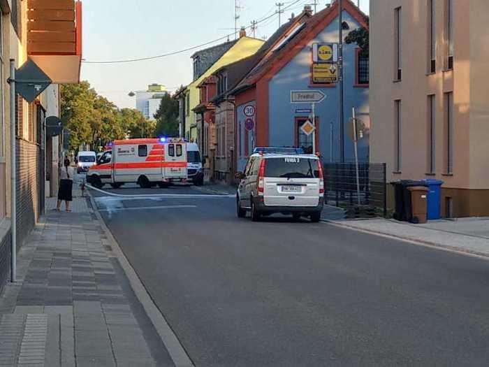 Sperrung der Oppauerstrasse im Bereich Samariterstrasse