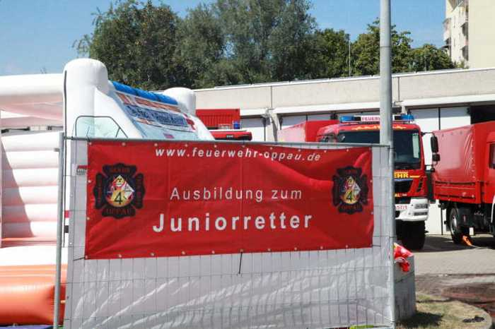 Angebot der Feuerwehr Oppau