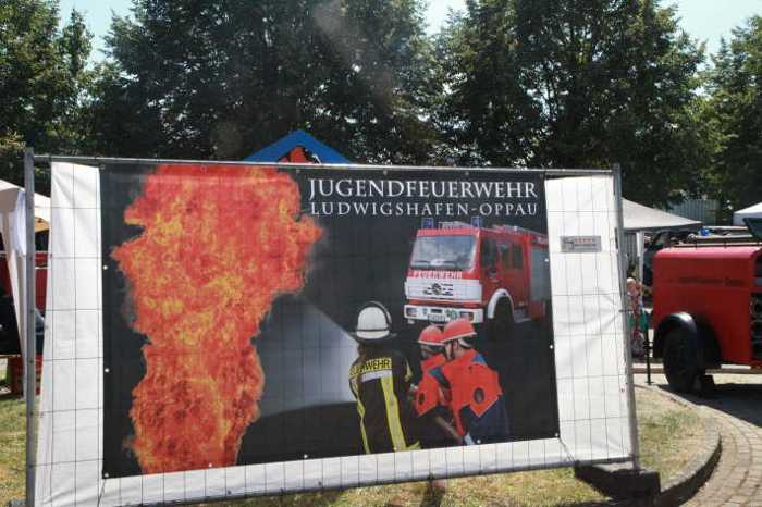 Werbeplakat der Feuerwehr