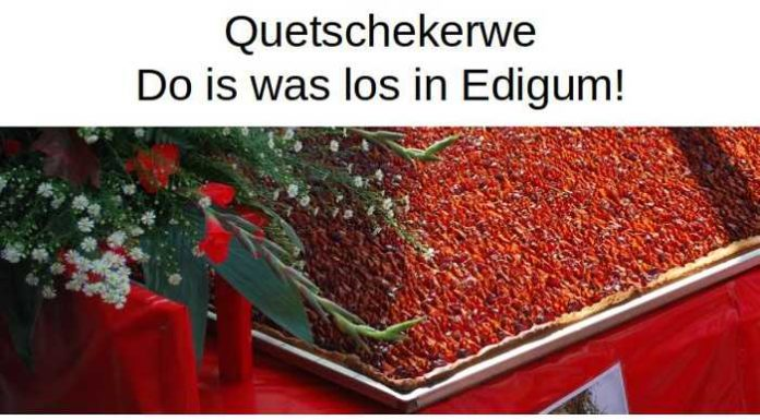 Plakat Quetschekerwe - zweisprachiger Kerwegottesdienst
