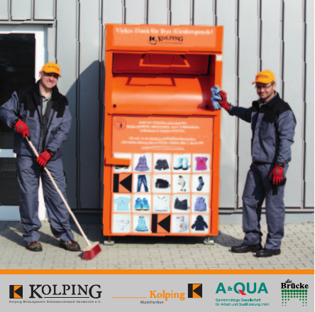 Kolping-kleider-container Quelle: Flyer Kolping
