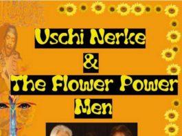 Plakat Uschi Nerke & The Flower Power Men