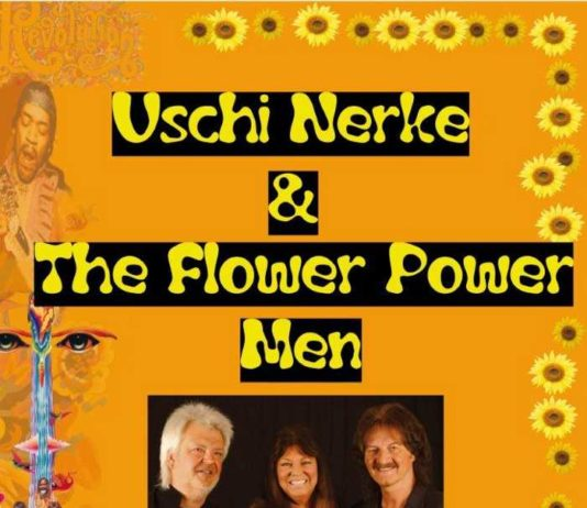 Plakat Uschi Nerke & The Flower Power Men
