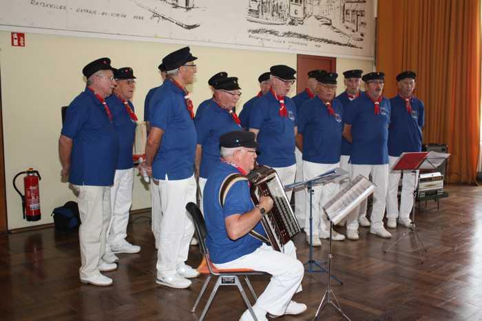 Der bekannte Shanty-Chor