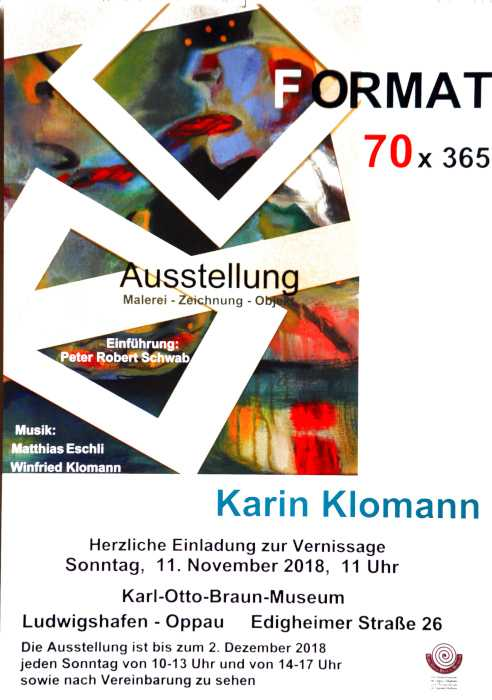 Ausstellung im Museum in Oppau