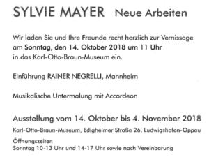 Neue Wechselausstellung im Karl Otto Braun Museum @ K.-O.-Braun-Museum